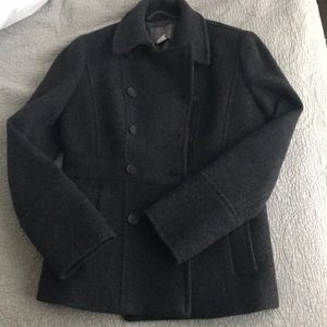 JCrew Stadium Cloth Pea Coat